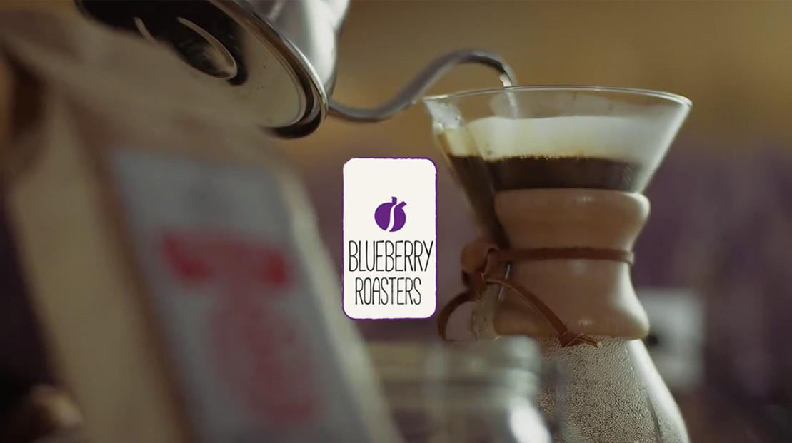 Blueberry Roasters - Logo