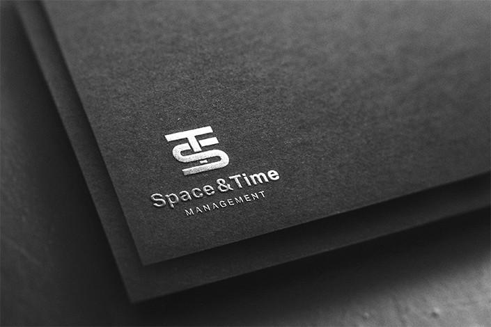 Space&Time Management - logo details